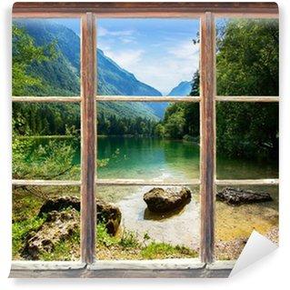 Carta da Parati in Vinile Window view Bluntautal
