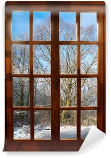 Carta da Parati in Vinile Winter Garden