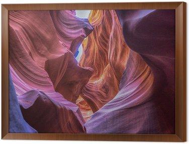 Çerçeveli Tuval Antilop kanyonu