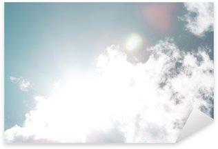 Çıkartması Pixerstick Mavi gök