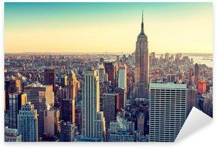 Çıkartması Pixerstick New york city