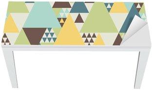 Cobertura para Mesa e Escrivaninha Abstract geometric pattern #2