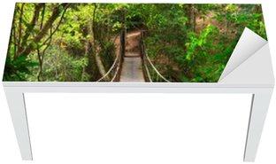Cobertura para Mesa e Escrivaninha Bridge to the jungle,Khao Yai national park,Thailand
