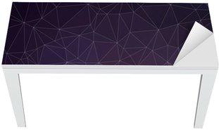 Cobertura para Mesa e Escrivaninha Colorful geometric background with triangles