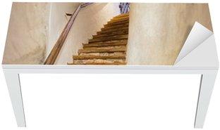 Cobertura para Mesa e Escrivaninha Stairs in Castle Kufstein - Austria