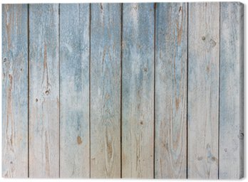Cuadro en Lienzo Azul de fondo de madera de época