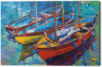 Cuadro en Lienzo Boats