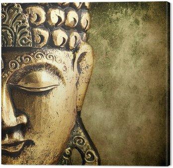 Cuadro en Lienzo Buda dorado