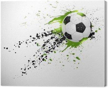Cuadro en Lienzo Diseño del fútbol