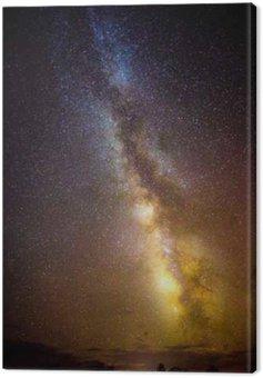 Cuadro en Lienzo El aumento de la Vía Láctea