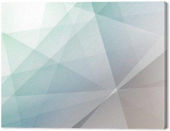 Cuadro en Lienzo Fondo geométrico transparente moderna del inconformista