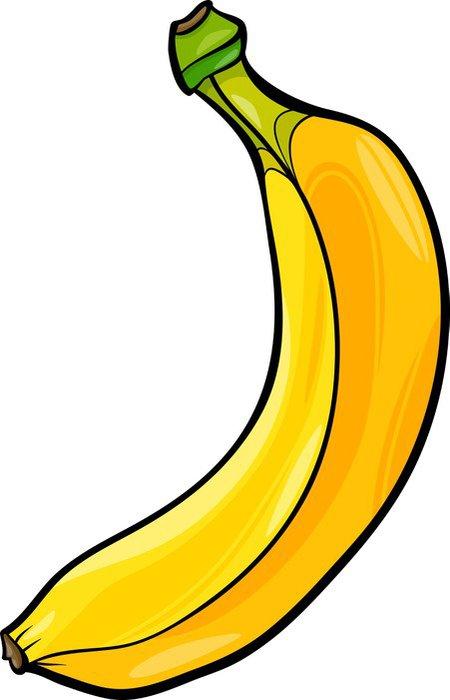 Cuadro en Lienzo Ilustracin de dibujos animados de frutas de