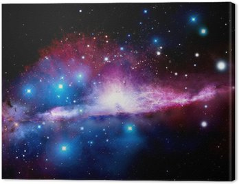 Cuadro en Lienzo Ilustración de una nebulosa