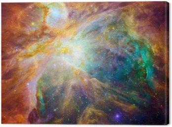 Cuadro en Lienzo La nube cósmica llamada nebulosa de Orión