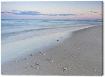 Cuadro en Lienzo La playa del descano