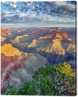Cuadro en Lienzo Luz de la mañana en el Grand Canyon