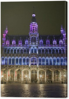 Cuadro en Lienzo Maison du Roi (La Casa del Rey) en la Grand Place, Bruselas