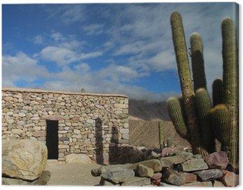 Cuadro en Lienzo Maison Inca