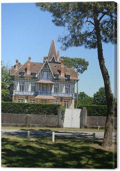 Cuadro en Lienzo Maison typique du Bassin d'Arcachon