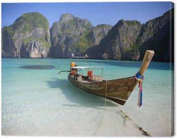 Cuadro en Lienzo Maya Bay, Koh Phi Phi Ley, Tailandia.
