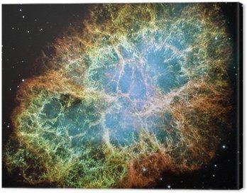 Cuadro en Lienzo Nebulosa del Cangrejo