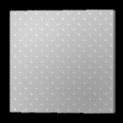 cuadro en lienzo patrn de vectores blanco y gris sin costuras o fondo del azulejo con los lunares u pixers vivimos para cambiar