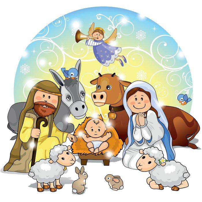 Cuadro en lienzo pesebre de navidad pixers vivimos para cambiar - Nacimiento para navidad ...