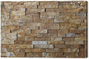 cuadro en lienzo piezas de piedra natural azulejos para paredes - Paredes De Piedra Natural