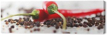 Cuadro en Lienzo Pimienta de chile rojo