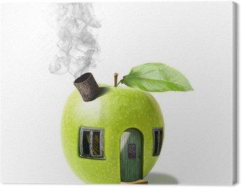Cuadro en Lienzo Pomme maison