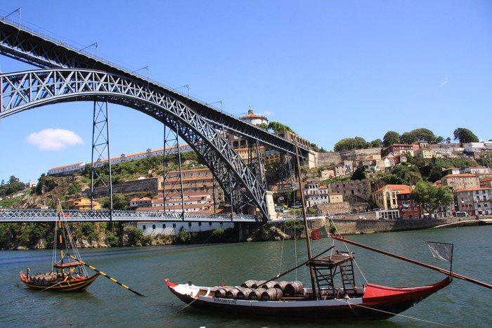 Cuadro en Lienzo Pont D Luis Porto Portugal - Urbano
