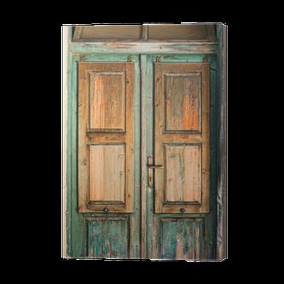 Puerta de madera vieja best bueno amigos siguiendo estos for Como pintar una puerta de madera vieja