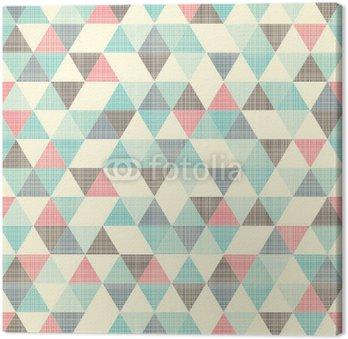 Cuadro en Lienzo Seamless patrón geométrico