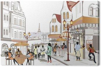 Cuadro en Lienzo Serie de la calle vistas de la ciudad vieja