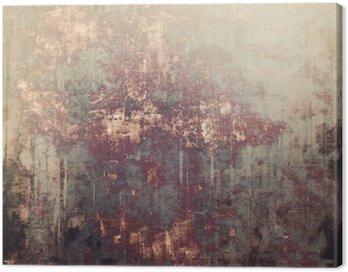 cuadro en lienzo textura de fondo antiguo de la vendimia con diferentes patrones de color