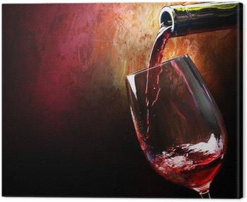 Cuadro en Lienzo Vino