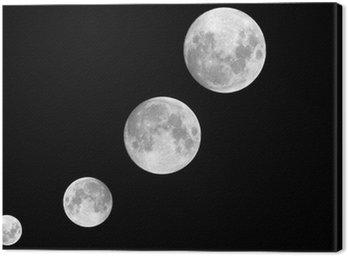 Cuadro en Lienzo Zyklus Mond