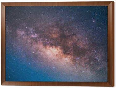 Cuadro Enmarcado El centro de la Vía Láctea