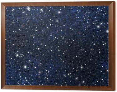 Cuadro Enmarcado Estrellado cielo nocturno