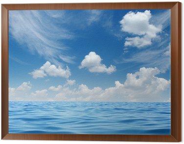 Cuadro Enmarcado Mar