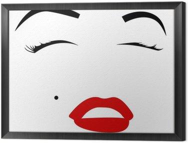 Cuadro Enmarcado Marilyn monroe