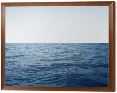 Cuadro Enmarcado Ocean Background