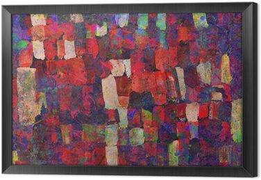 Cuadro Enmarcado Pintura del arte abstracto
