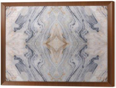 Cuadro Enmarcado Resumen de mármol patrón de suelo de superficie de textura de fondo