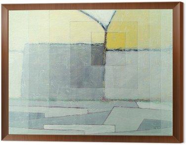 Cuadro Enmarcado Una pintura abstracta