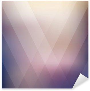 Pixerstick Dekor Abstrakt geometrisk lila polygonal bakgrund. vektor