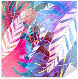 Pixerstick Dekor Abstrakt vattenfärg bakgrund