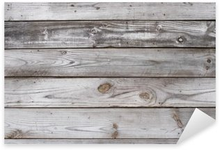 Pixerstick Dekor Aged Wood Bakgrund Texture Horisontell