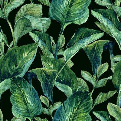 Pixerstick till Allt Akvarell Seamless Tropiska
