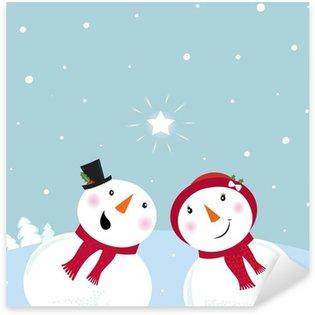 Pixerstick till Allt Alla Hjärtans Dag: Snowman
